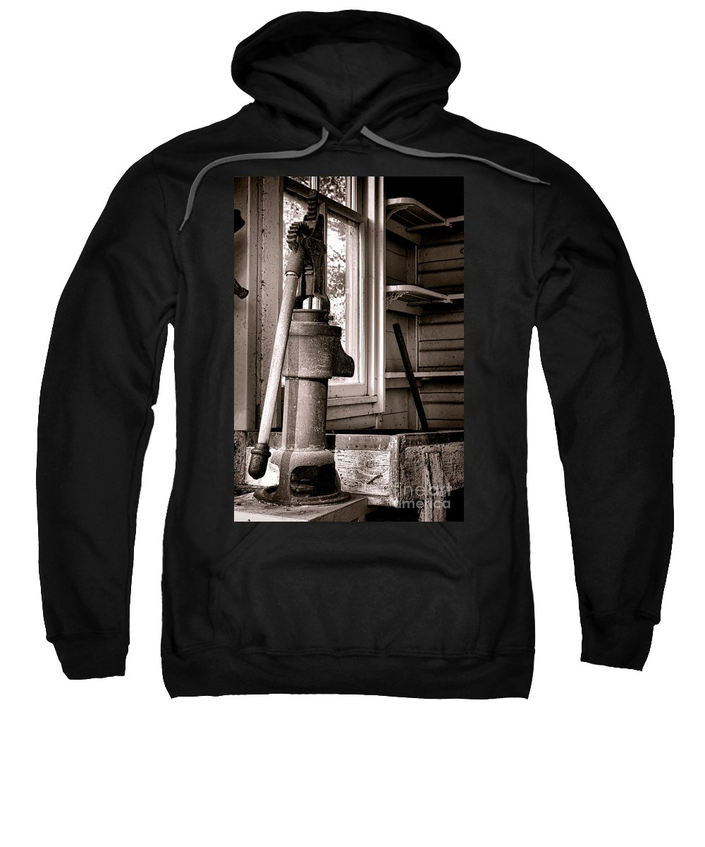Water Sweatshirt featuring the photograph Indoor Plumbing by Olivier Le Queinec