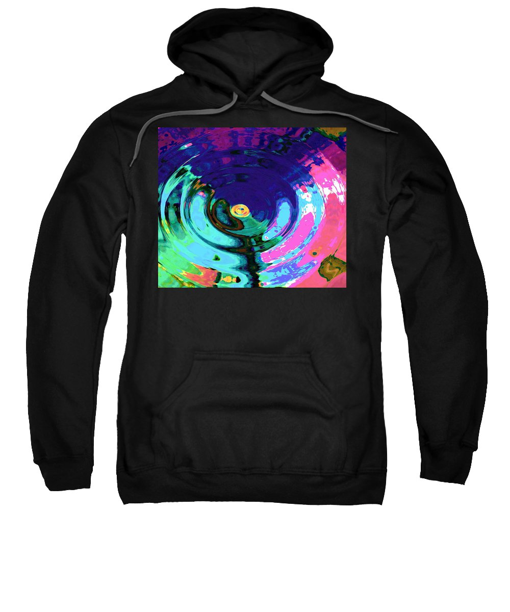Blue Sweatshirt featuring the digital art Infinity by Natalie Holland
