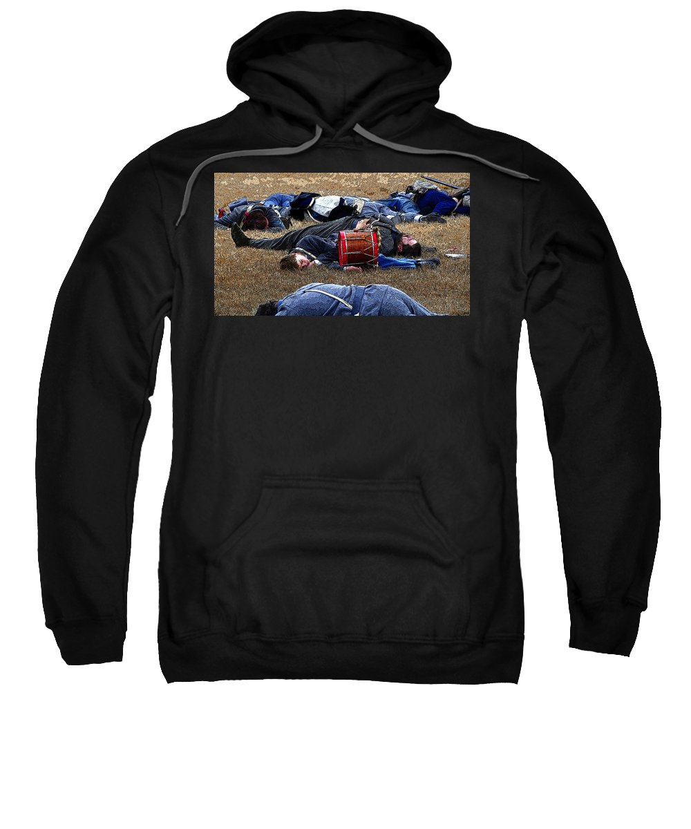 Art Sweatshirt featuring the painting Innocence Lost by David Lee Thompson