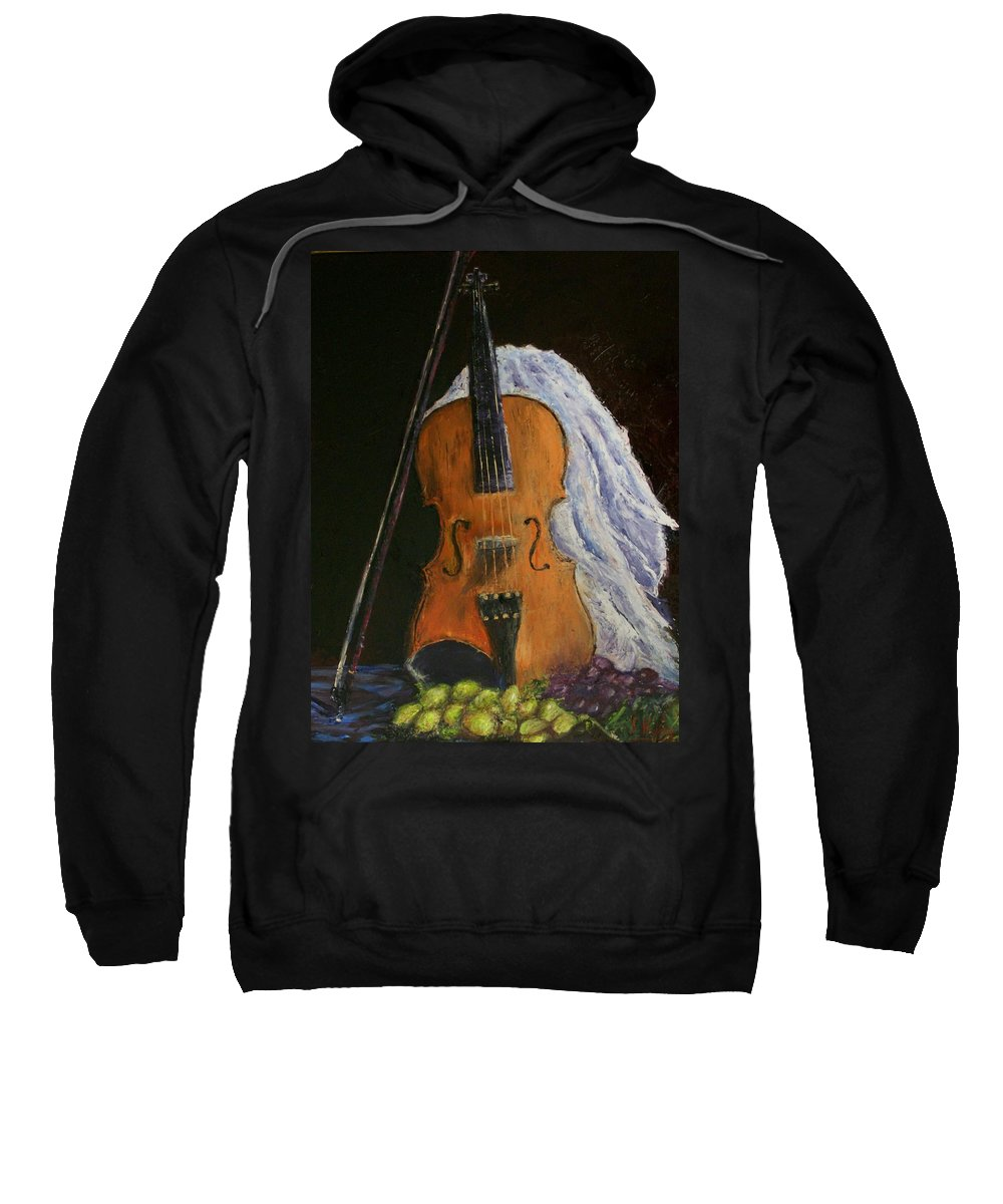 Original Sweatshirt featuring the painting Intermission by Stephen King