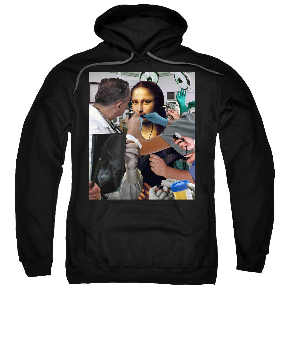 Medical Sweatshirt featuring the photograph Interventive Conservation by Barry Kite