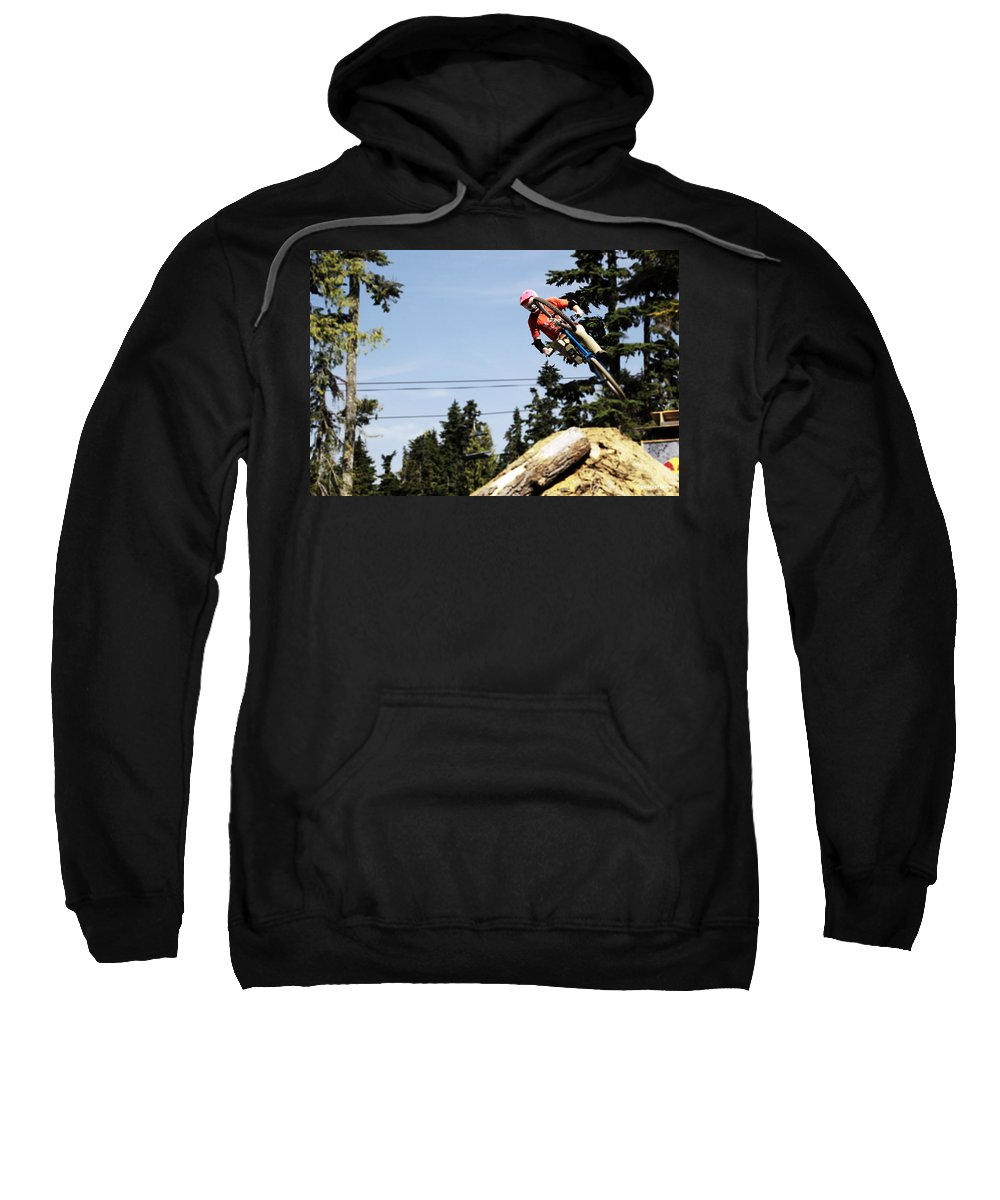 Freestyle Sweatshirt featuring the photograph Into The 4pack by Rasma Bertz