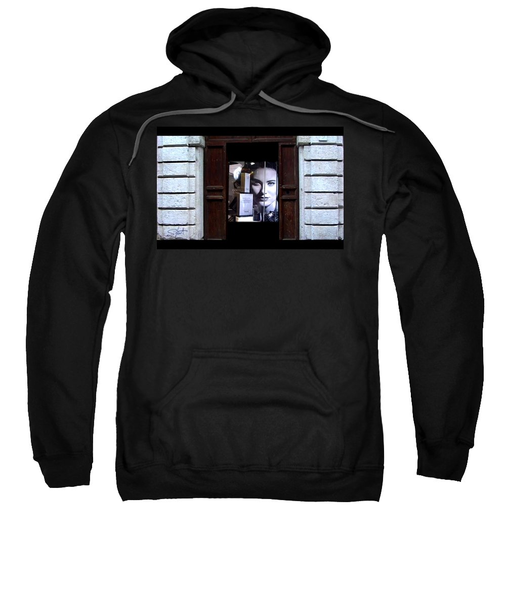 Dream Sweatshirt featuring the painting Into The Doorway by Charles Stuart