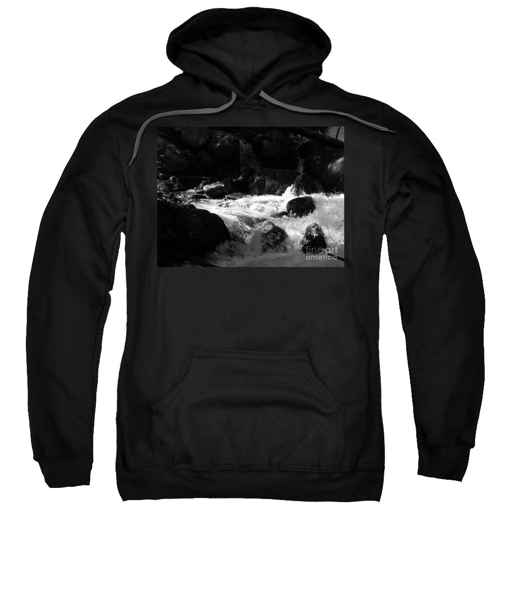 Rivers Sweatshirt featuring the photograph Into The Light by Amanda Barcon