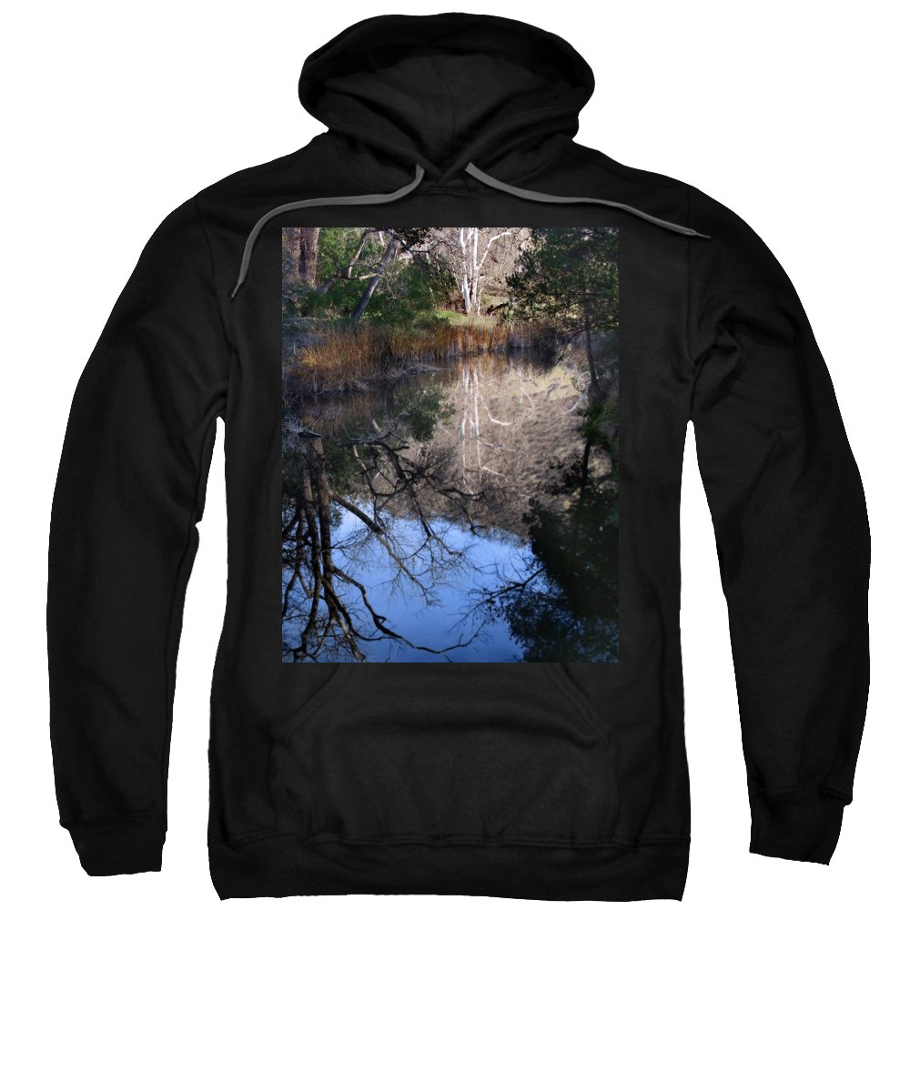 Landscape Sweatshirt featuring the photograph Into The Light by Karen W Meyer