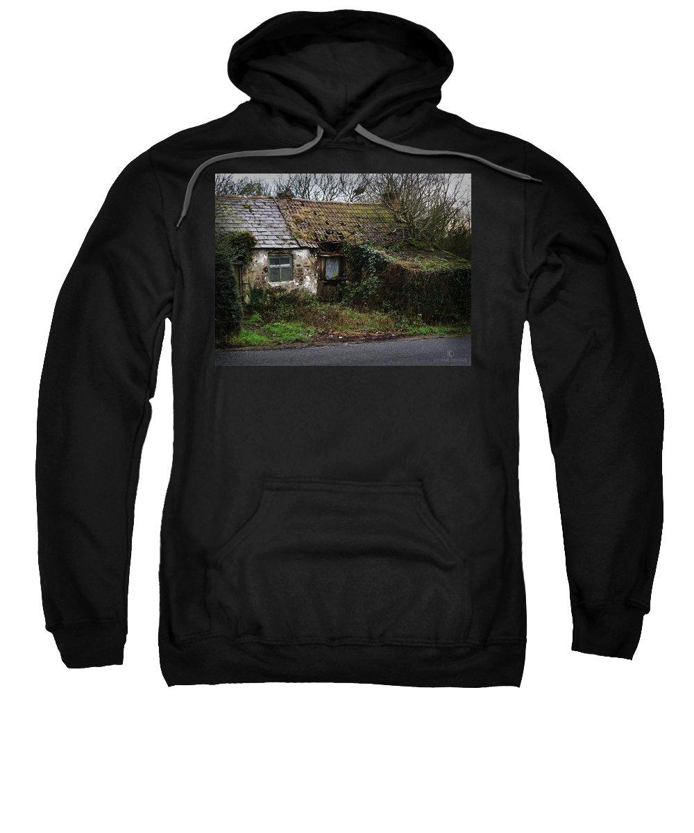 Hovel Sweatshirt featuring the photograph Irish Hovel by Tim Nyberg