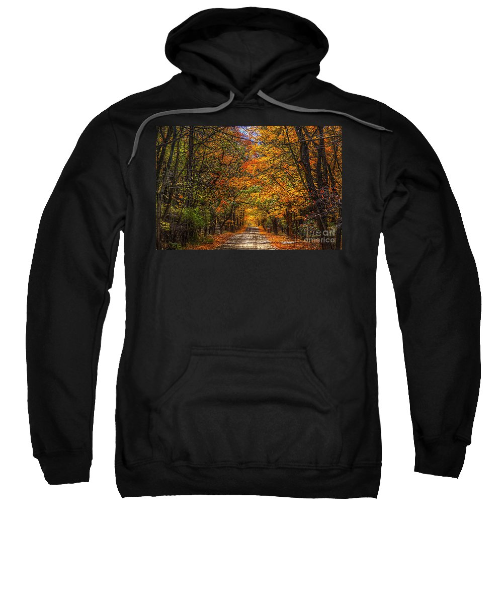Fall Sweatshirt featuring the photograph Its A Michigan Fall by Robert Pearson