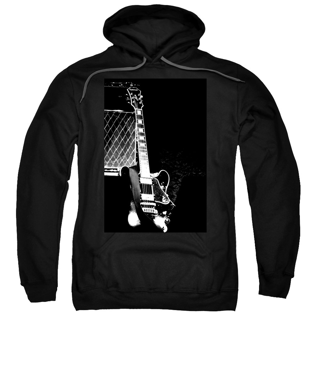 Guitar Sweatshirt featuring the photograph Its All Rock N Roll by Traci Cottingham