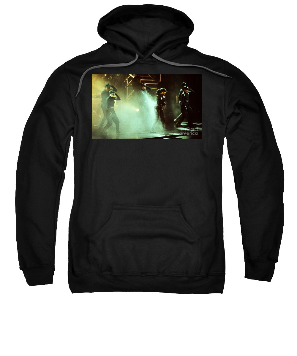 Janet Jackson Sweatshirt featuring the photograph Janet Jackson 90-2387 by Gary Gingrich Galleries
