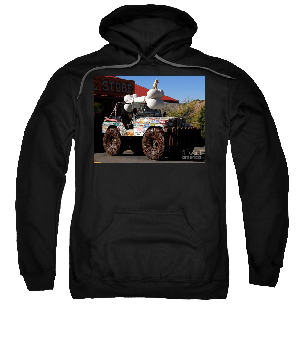 Jeep Sweatshirt featuring the photograph Jeep Art by David Lee Thompson