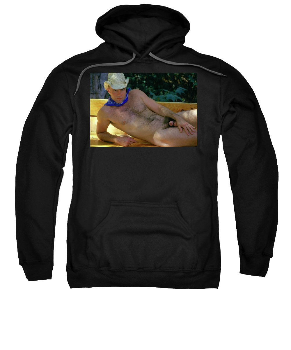 Male Sweatshirt featuring the photograph Jeff C. 6 by Andy Shomock