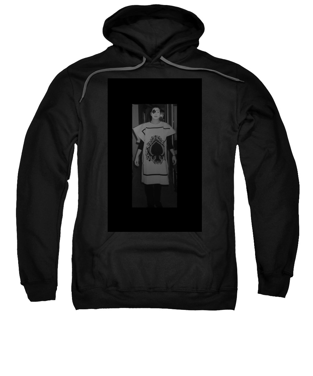Ace Of Spades Sweatshirt featuring the photograph Jen Of Spades by Rob Hans