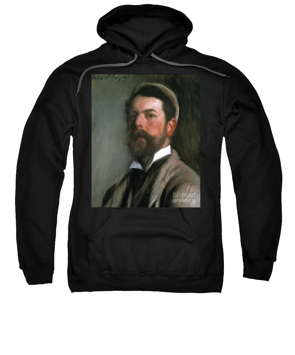 1892 Sweatshirt featuring the photograph John Singer Sargent by Granger