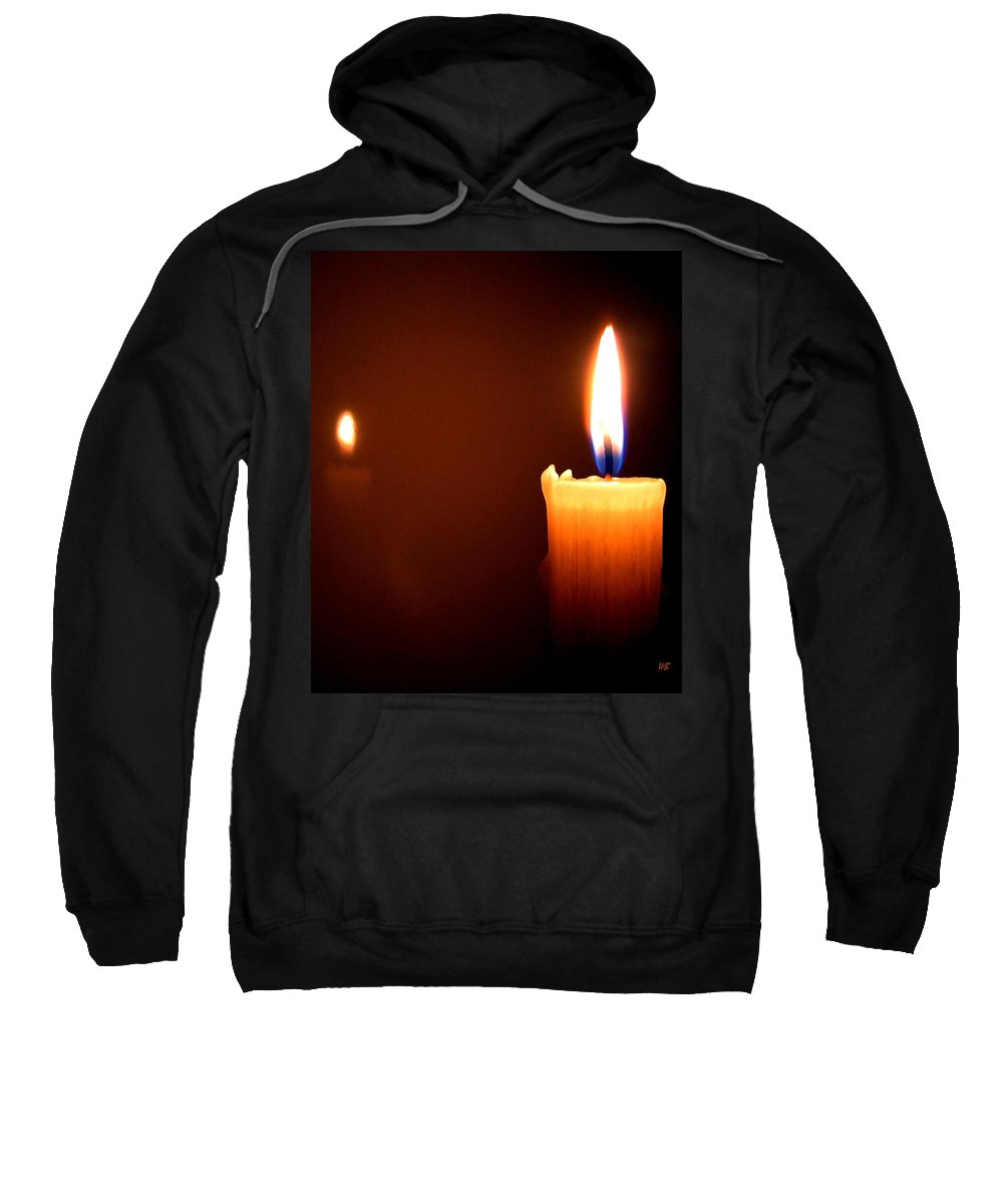 Reflection Sweatshirt featuring the photograph Joie De Vivre by Will Borden