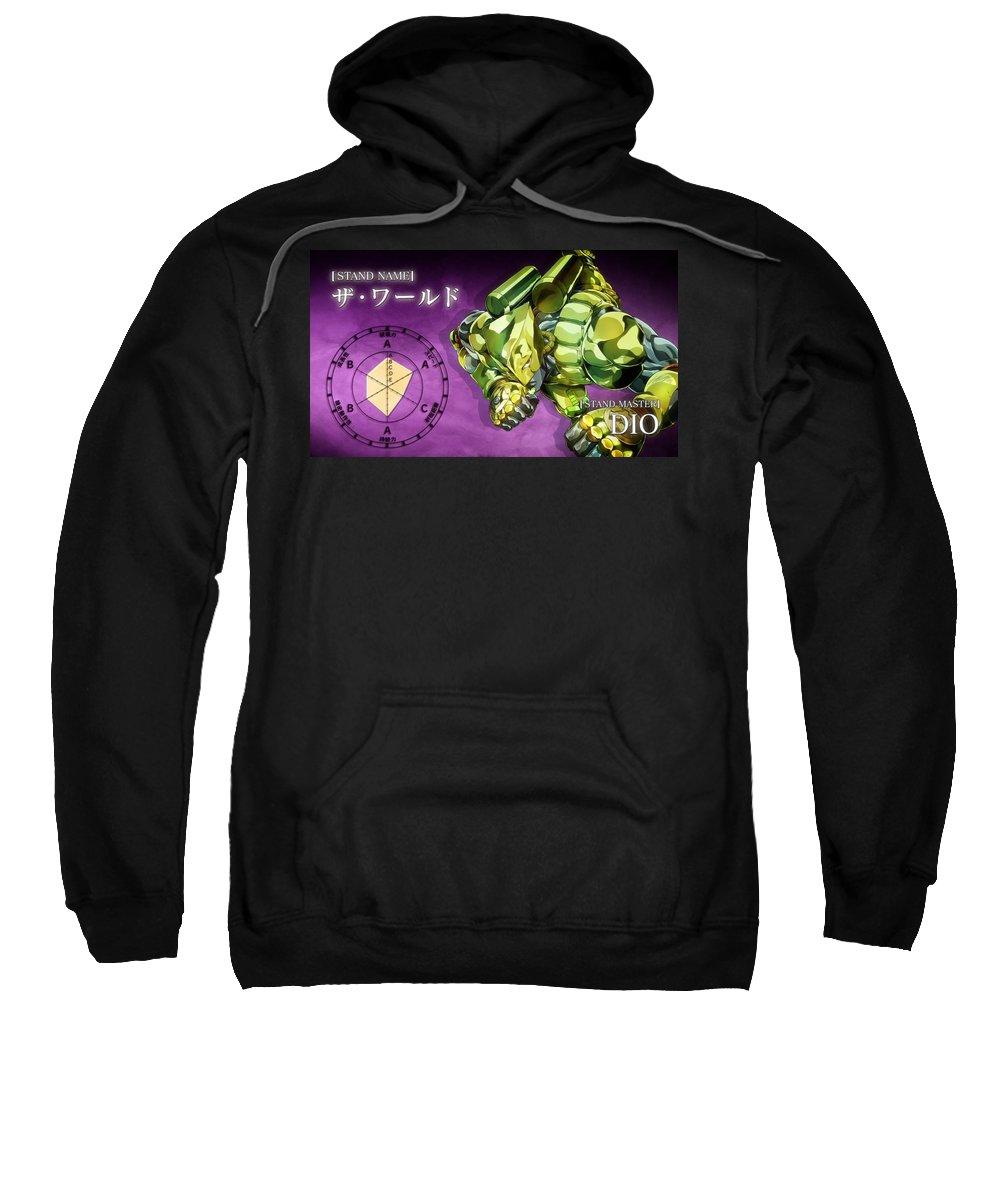 Jojo's Bizarre Adventure Sweatshirt featuring the digital art Jojo's Bizarre Adventure by Bert Mailer