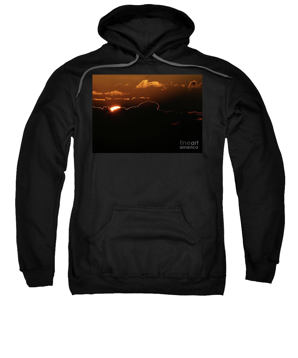 Sunrise Sweatshirt featuring the photograph Jupiter Dawn by Sabrina L Ryan