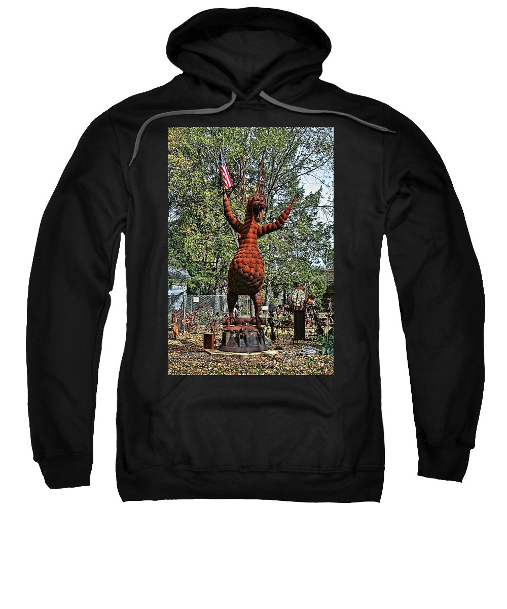 Jurustic Park Sweatshirt featuring the photograph Jurustic Park - 4 by Tommy Anderson
