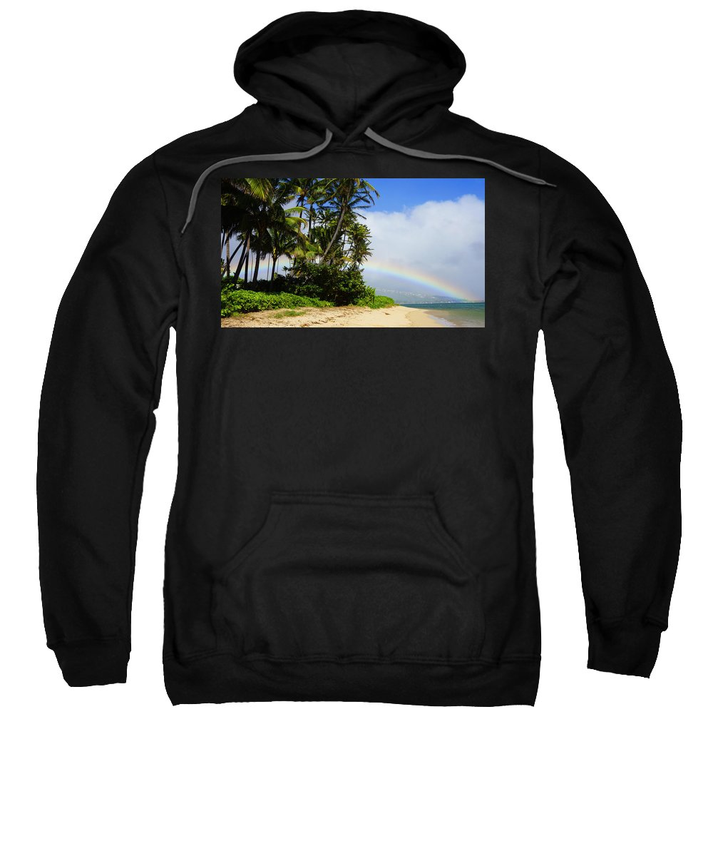 Kahala Sweatshirt featuring the photograph Blessed Land by Kevin Smith