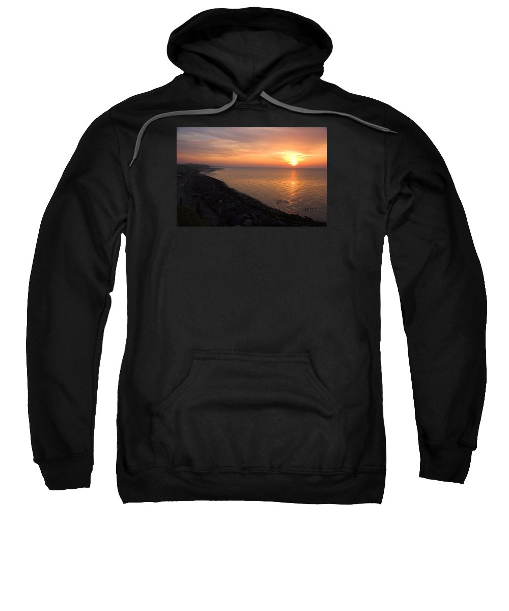 Sunset Sweatshirt featuring the photograph Kentish Sunset by Chris Pickett