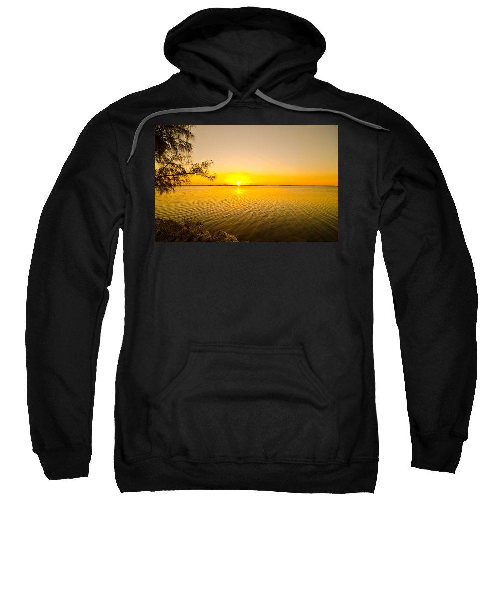 Sunrise Sweatshirt featuring the photograph Key Largo Sunrise 2 by Chris Thaxter