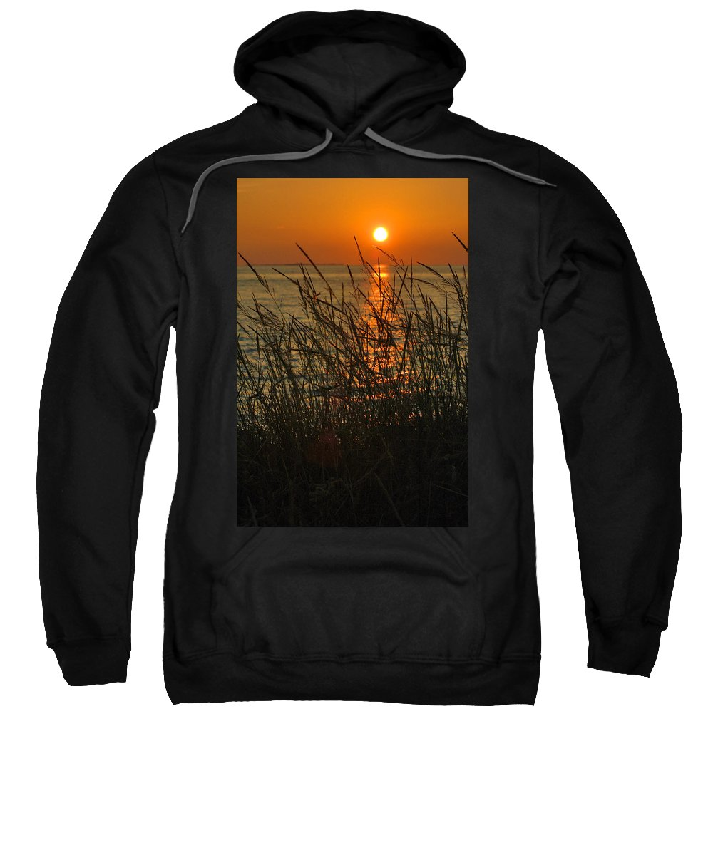 Photography Sweatshirt featuring the photograph Key West Sunset by Susanne Van Hulst