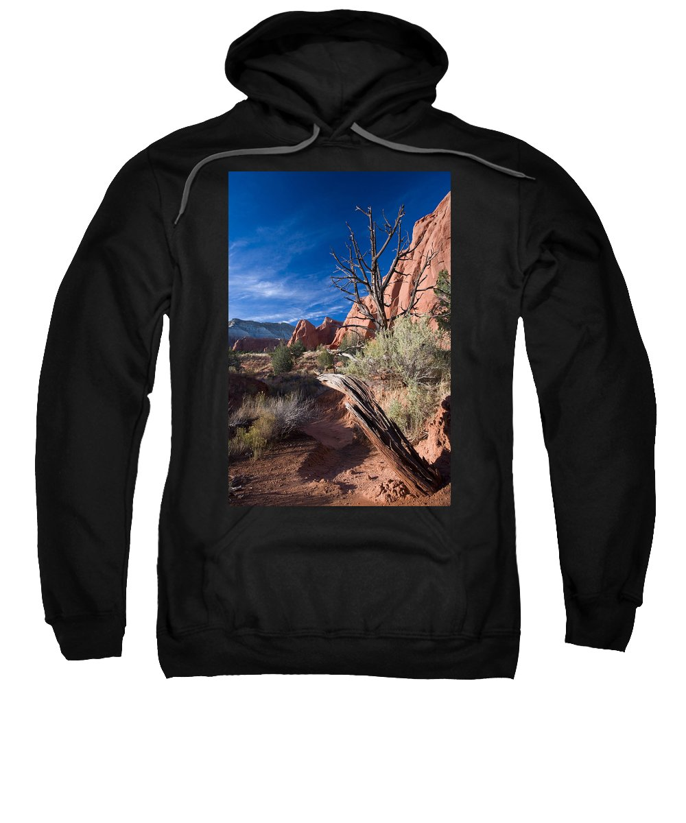 Kodachrome State Park Sweatshirt featuring the photograph Kodachrome Sunset by Mike Dawson