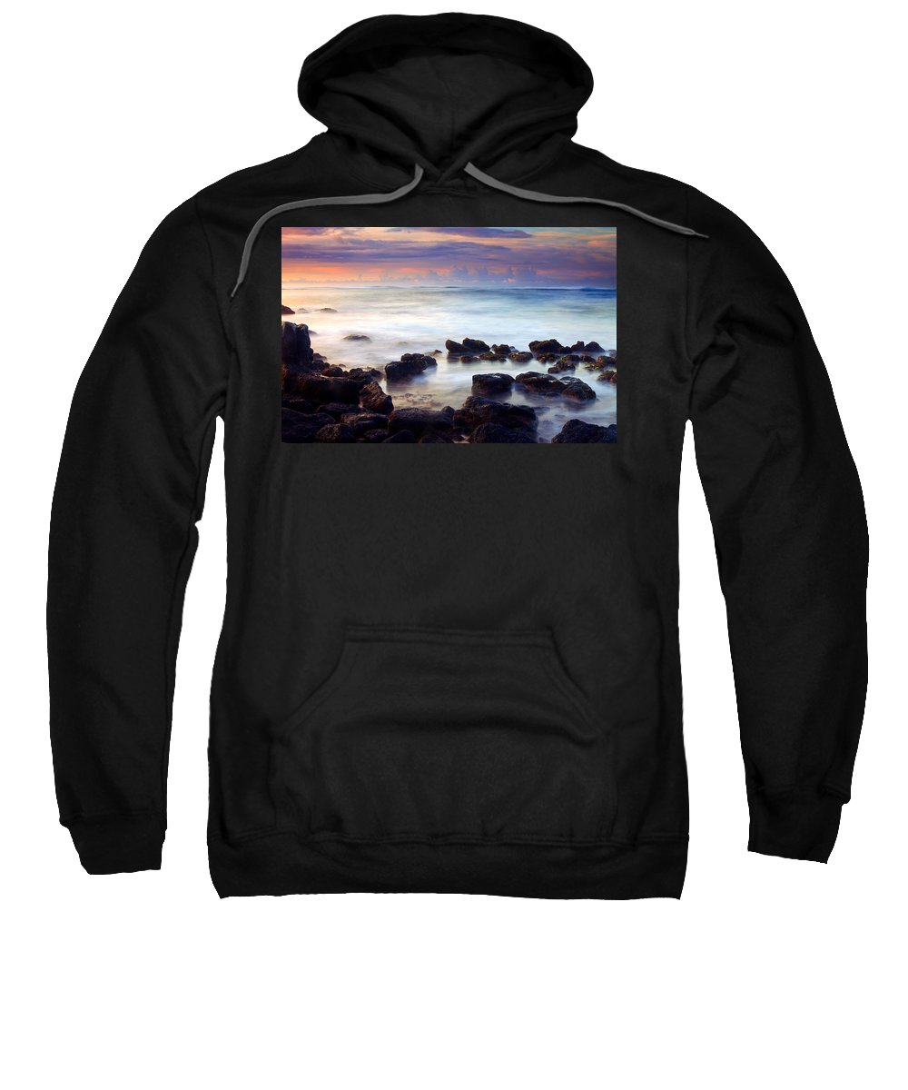 Koloa Sweatshirt featuring the photograph Koloa Sunrise by Mike Dawson