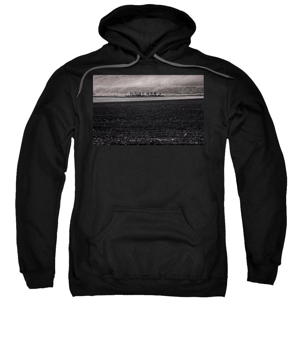 Infrared Sweatshirt featuring the photograph Kootenai Valley Farm by Lee Santa
