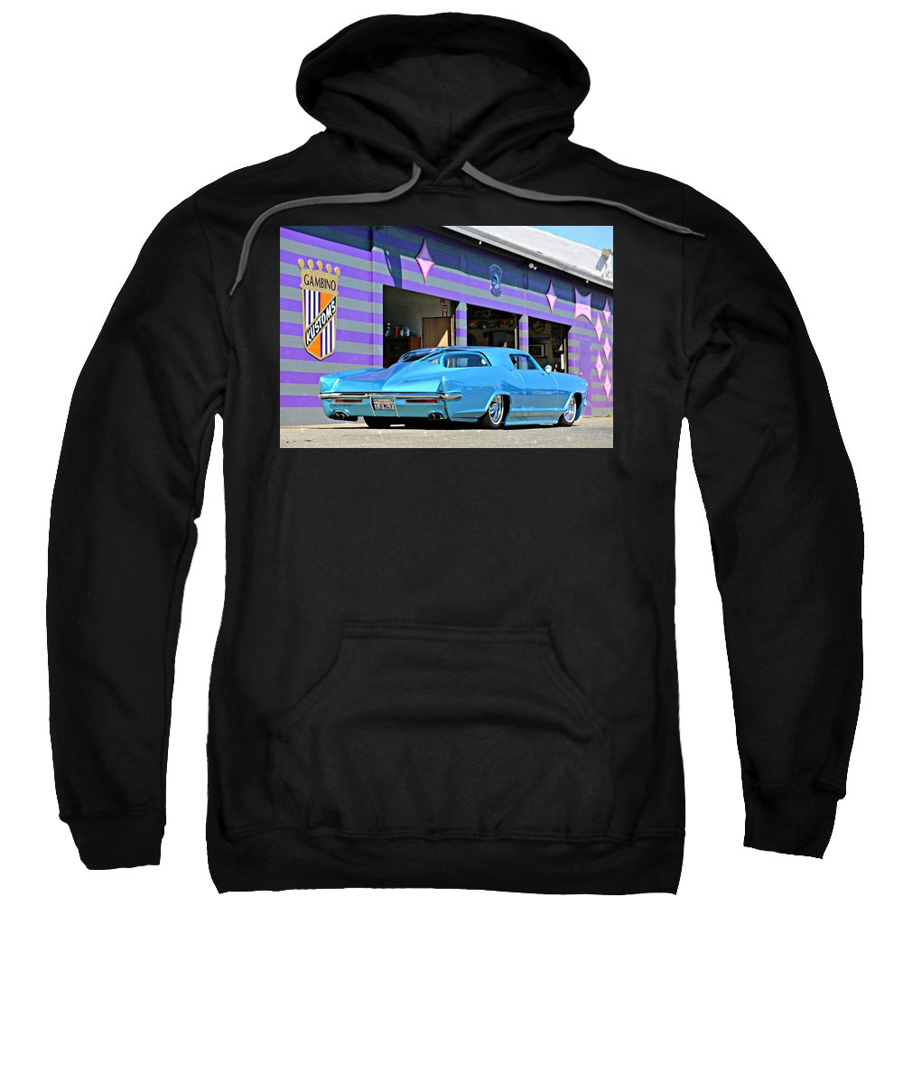 Kustom Sweatshirt featuring the photograph Kustom On The Riviera by Steve Natale