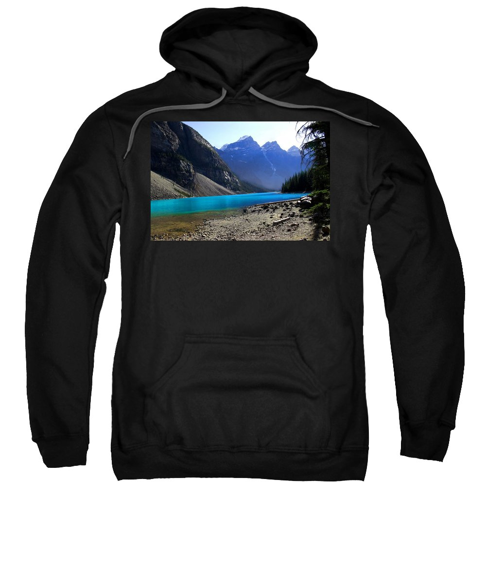 Lake Sweatshirt featuring the photograph Lake Louise by Marcin and Dawid Witukiewicz