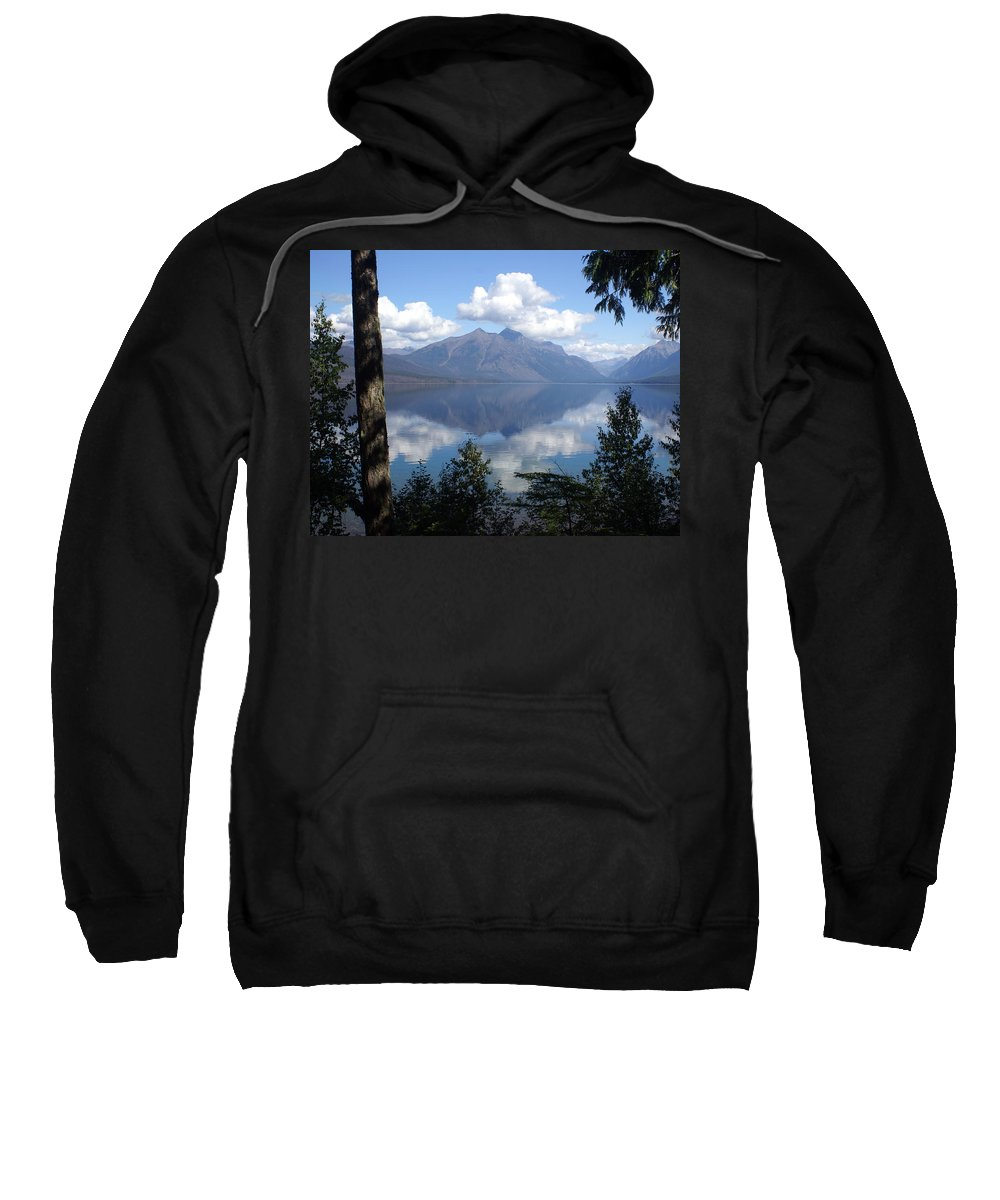 Lake Sweatshirt featuring the photograph Lake Mcdonald Glacier National Park by Marty Koch