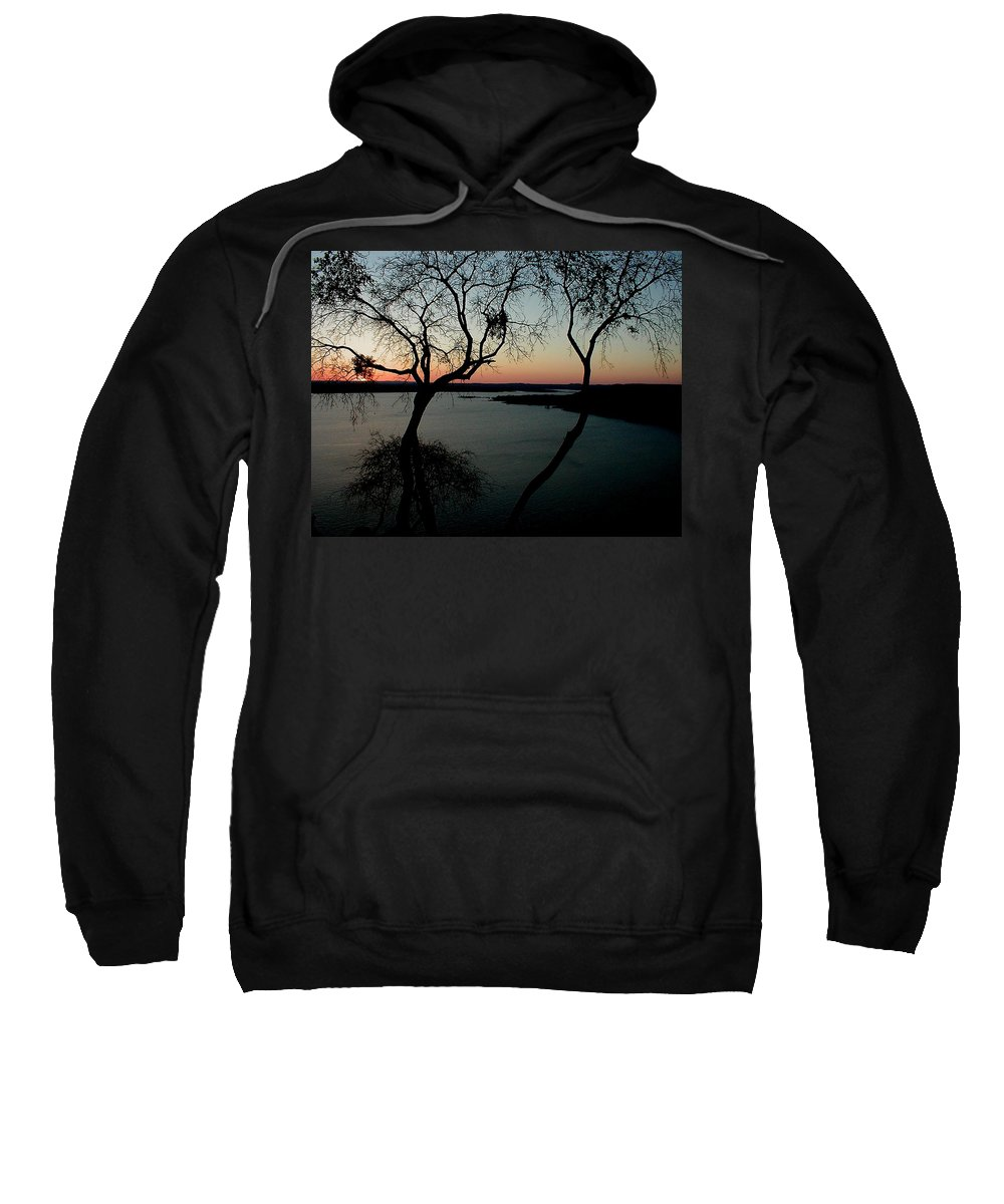Lake Travis Sweatshirt featuring the photograph Lake Travis by Robert Meanor
