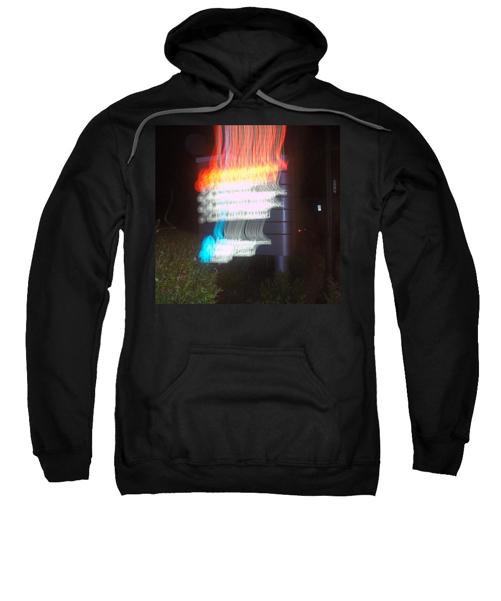 Photograph Sweatshirt featuring the photograph Lancaster General Emergency Room by Thomas Valentine