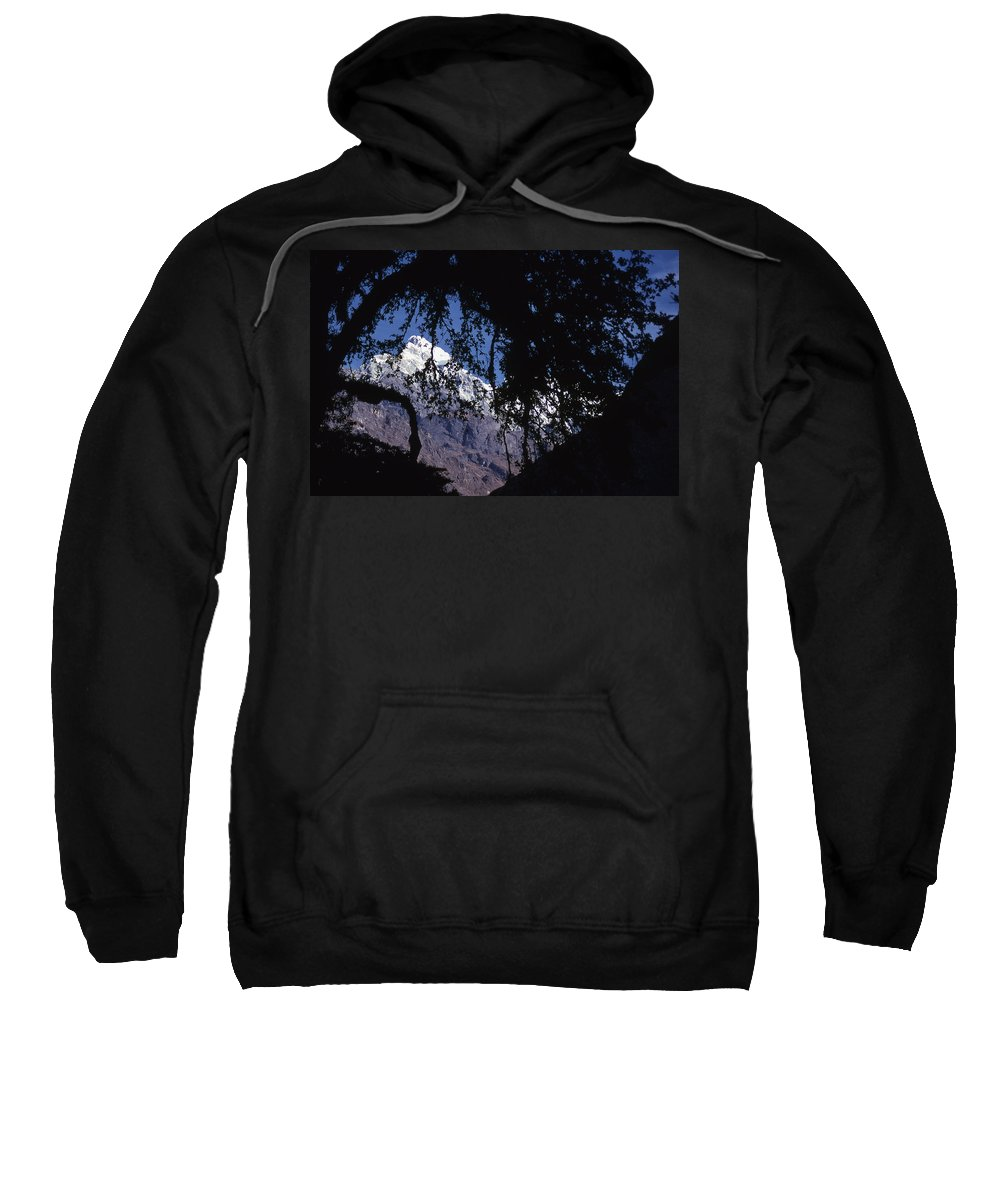 Langtang Sweatshirt featuring the photograph Langtang by Patrick Klauss