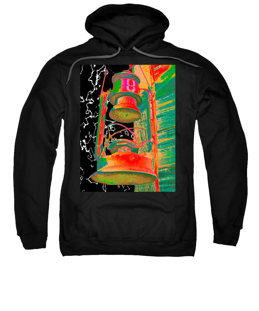 Lantern Sweatshirt featuring the photograph Lantern by Tim Allen
