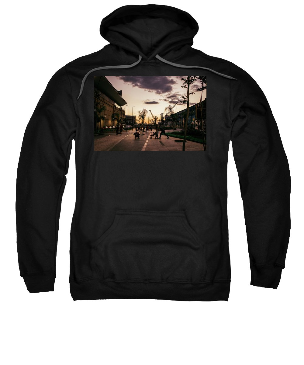 Urban Sweatshirt featuring the photograph Late Afternoon. by Lincon Vidal
