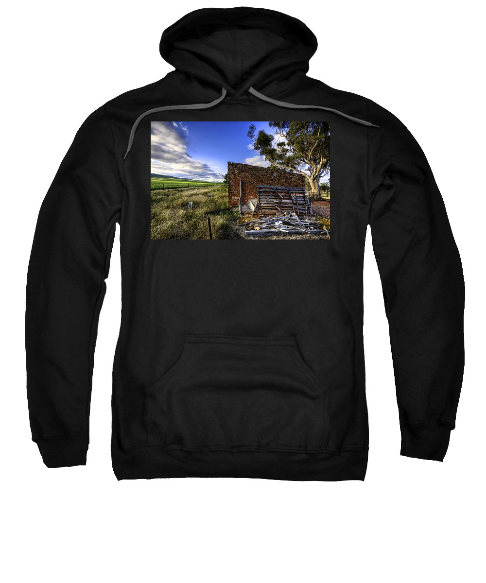 Farm Sweatshirt featuring the photograph Late Afternoon by Wayne Sherriff