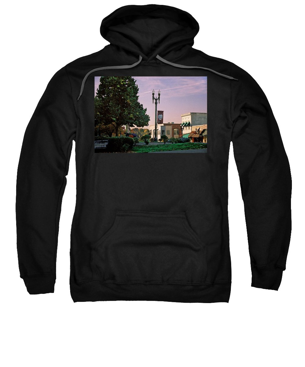 Landscape Sweatshirt featuring the photograph Late Sunday Afternoon by Steve Karol