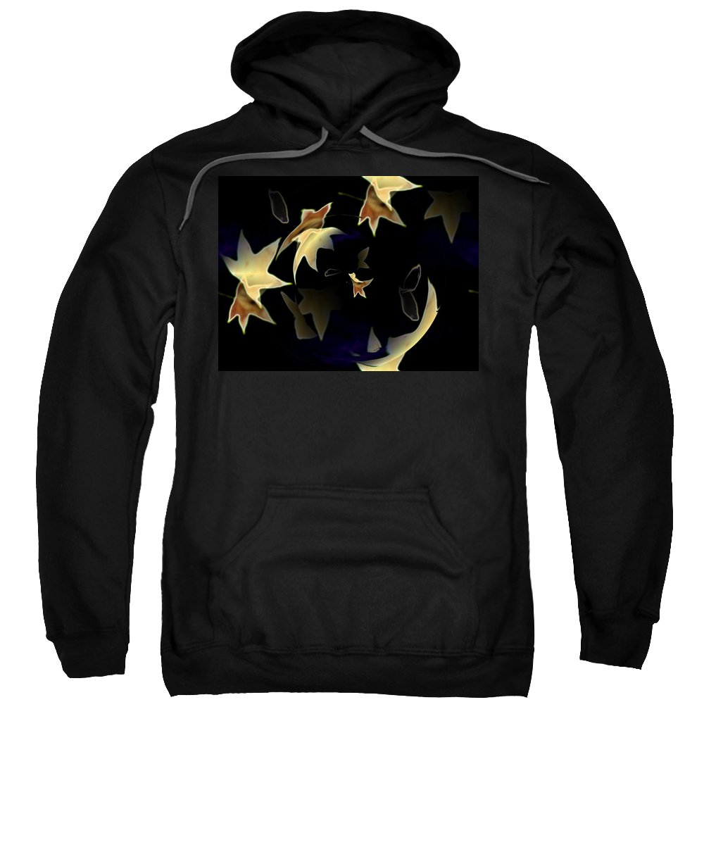 Leaves Sweatshirt featuring the photograph Leaves by Tim Allen