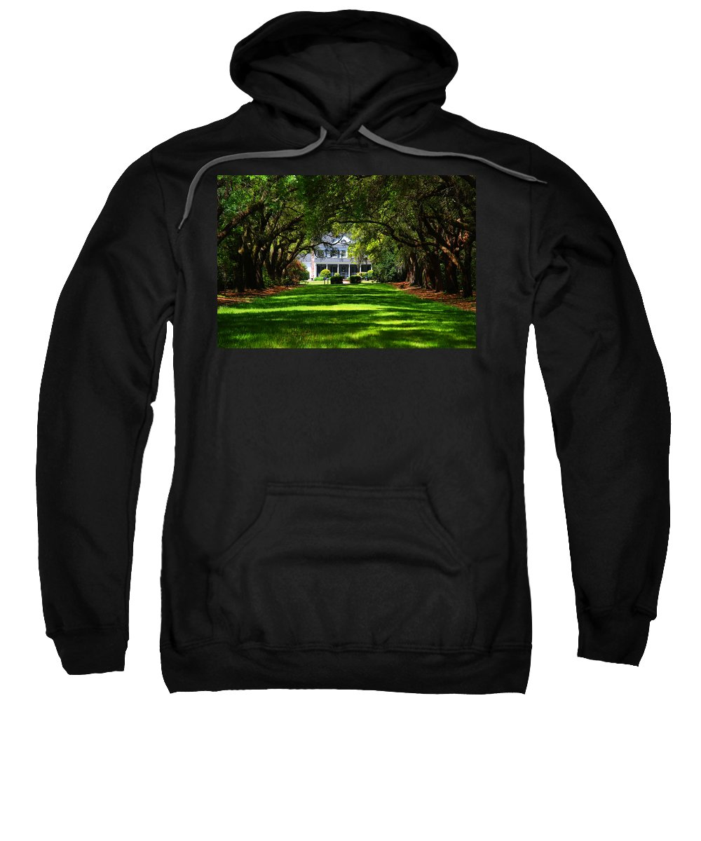 Photography Sweatshirt featuring the photograph Legare Waring House Charleston Sc by Susanne Van Hulst