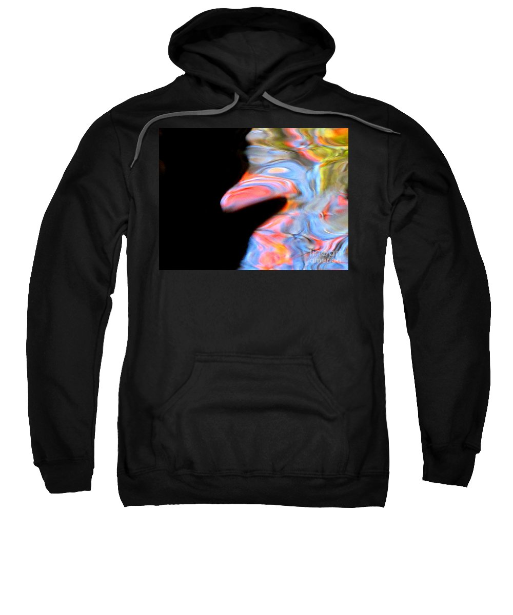 Abstract Sweatshirt featuring the photograph Let It Be Me by Sybil Staples