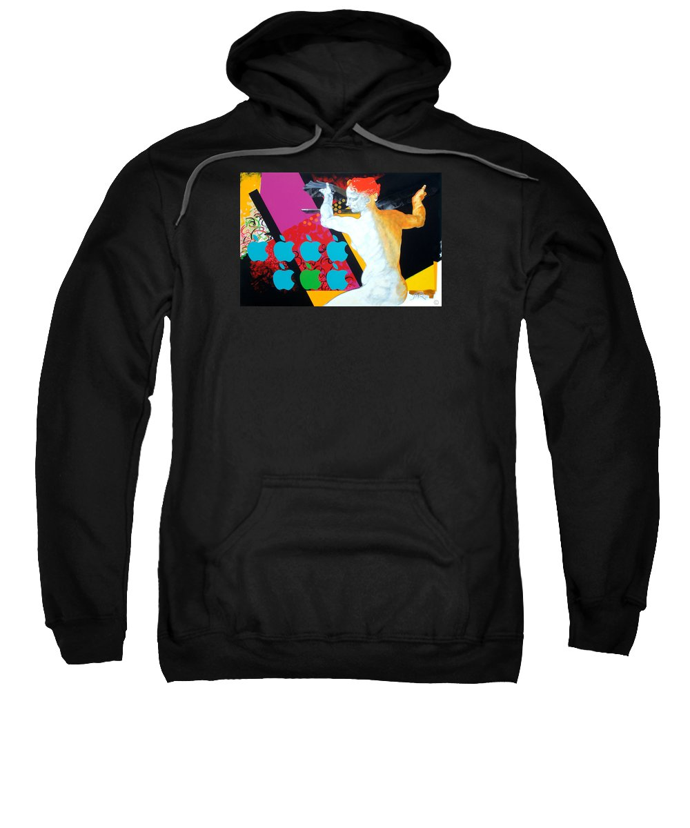 Classic Sweatshirt featuring the painting Libyan by Jean Pierre Rousselet