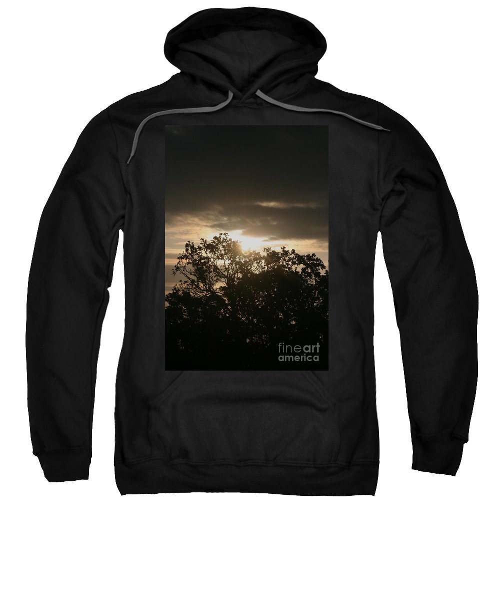 Light Sweatshirt featuring the photograph Light Chasing Away The Darkness by Nadine Rippelmeyer