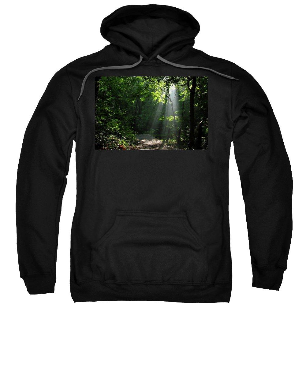 Light Sweatshirt featuring the photograph Light II by Douglas Stucky