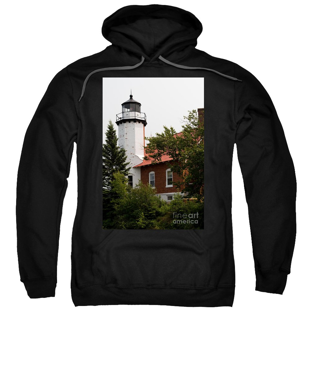 Lighthouse Sweatshirt featuring the photograph Lighthouse 1 by Wesley Farnsworth