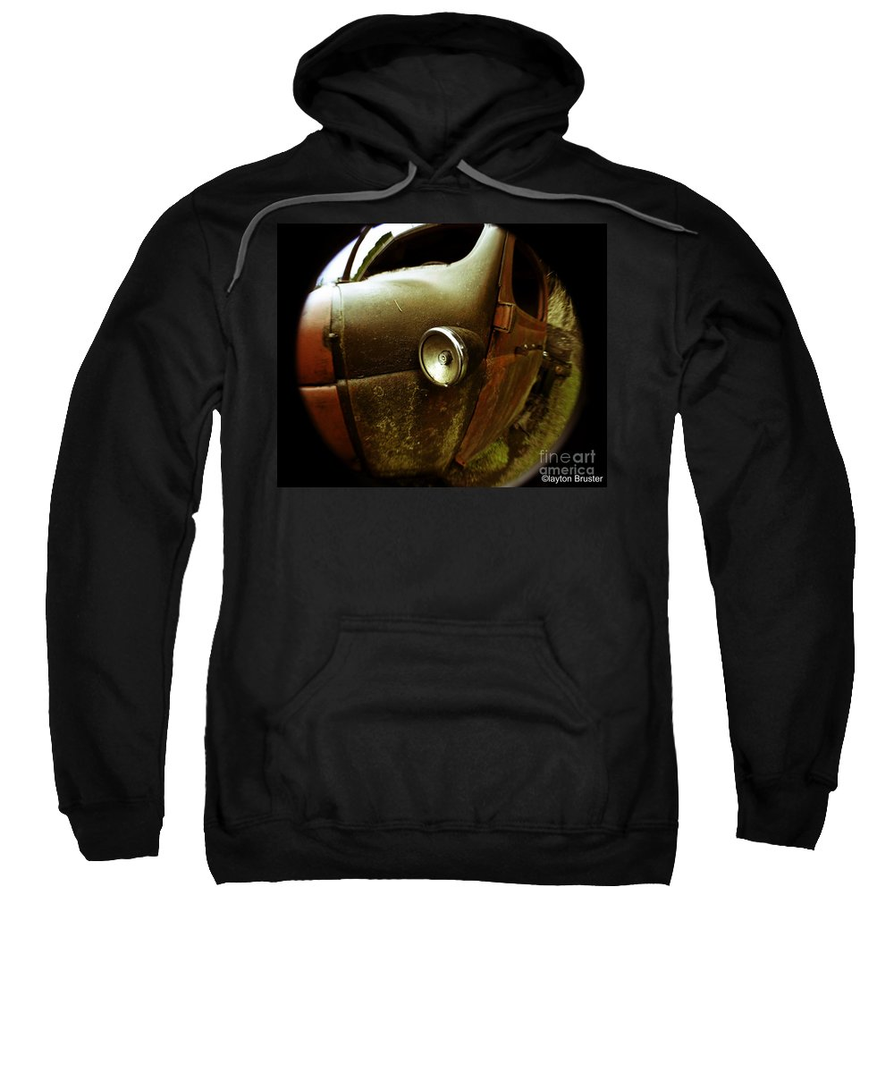 Art Sweatshirt featuring the photograph Lightly Rusted by Clayton Bruster