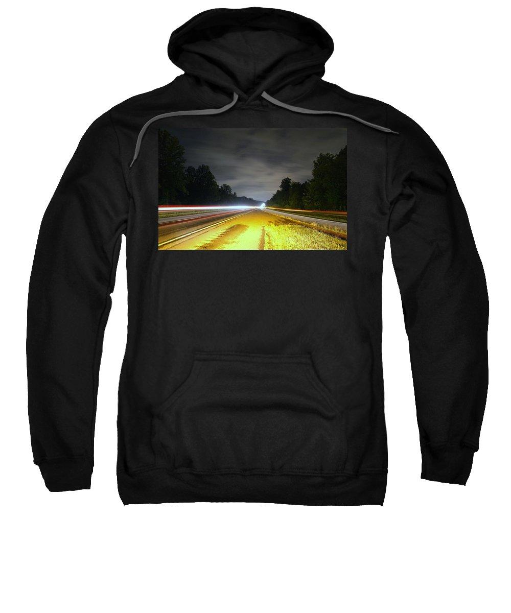 Landscape Sweatshirt featuring the photograph Lightworks by Alex Grichenko