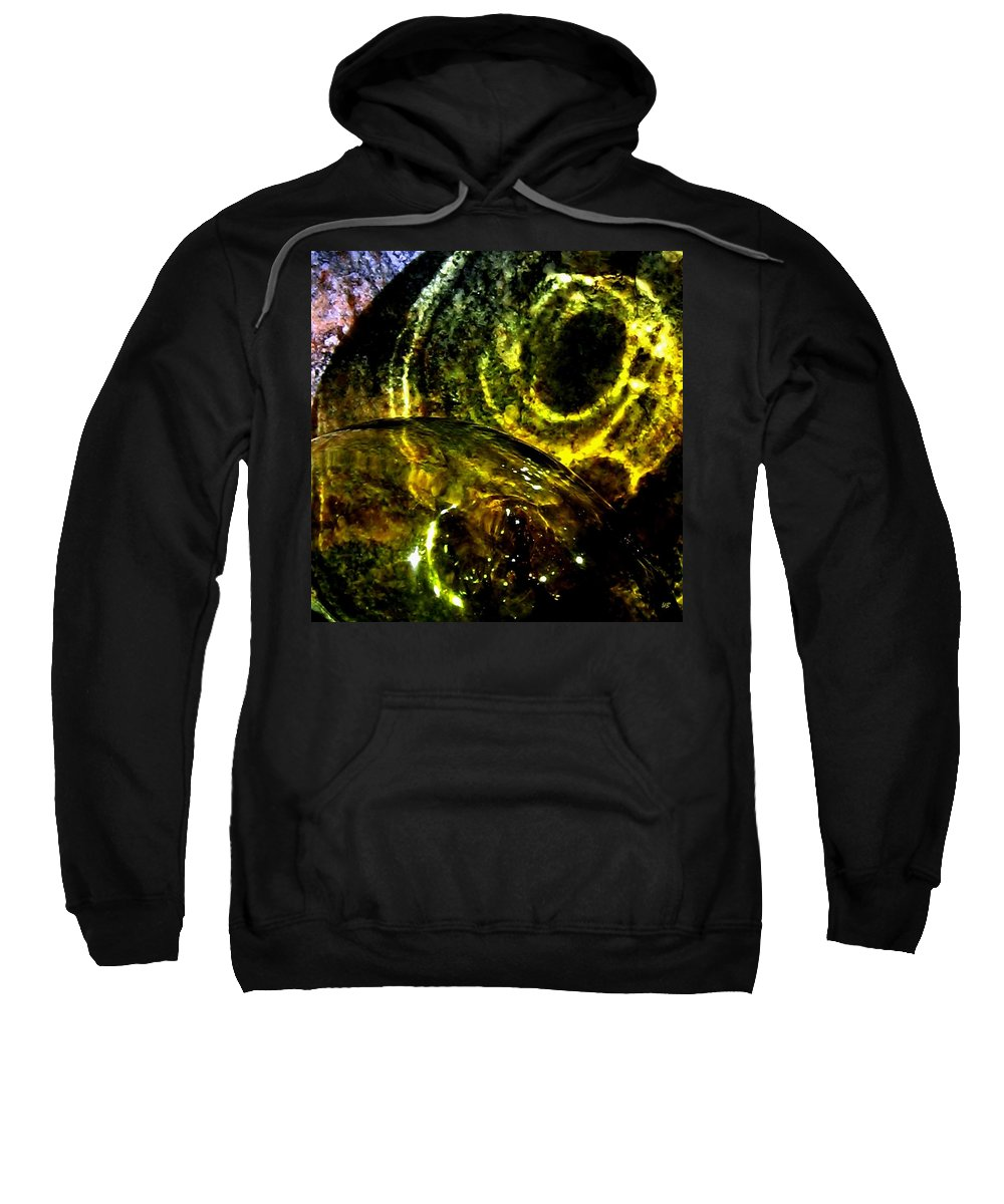 Glass Ball Sweatshirt featuring the photograph Limelight by Will Borden