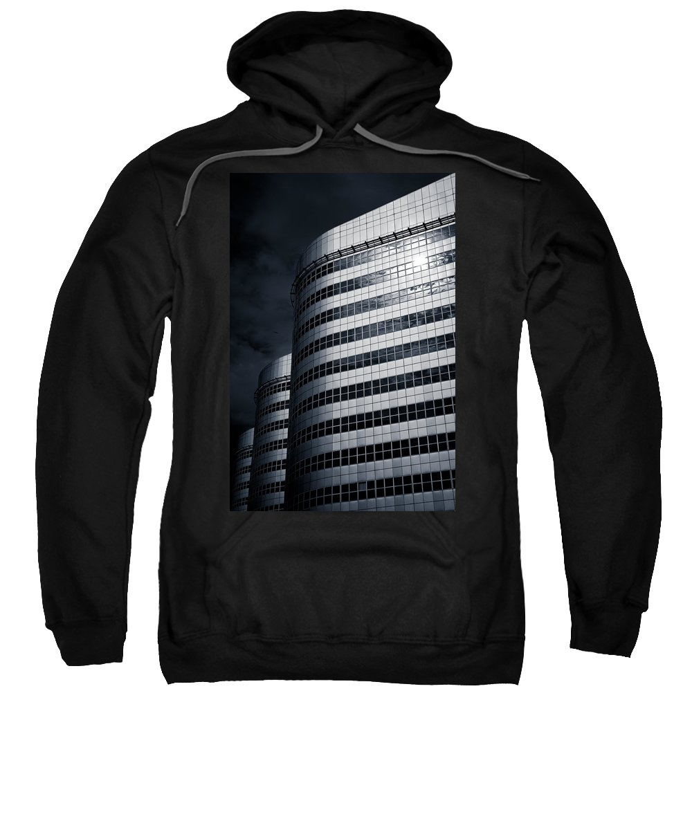Architecture Sweatshirt featuring the photograph Lines And Curves by Dave Bowman
