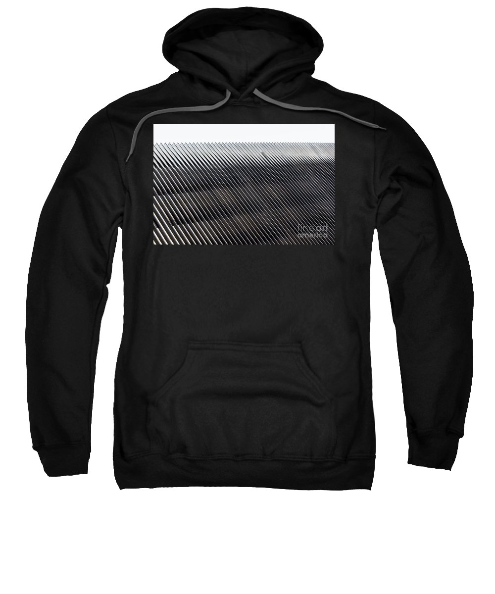 Line Sweatshirt featuring the photograph Lines by Evil Shadows